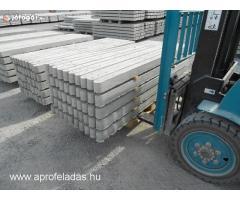 Betonoszlop Vadháló Drótháló Drótfonat Drótkerítés Kerítés