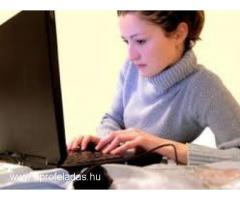 Azonnal kezdhető távmunka napi kifizetéssel  a neten