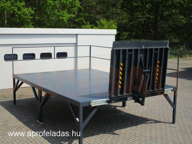 AUSBAU-PLT rakodási platform