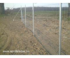 vadháló  drótfonat drótkerítés kerítésépítés