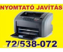Nyomtató és számítógép javítás Pécs
