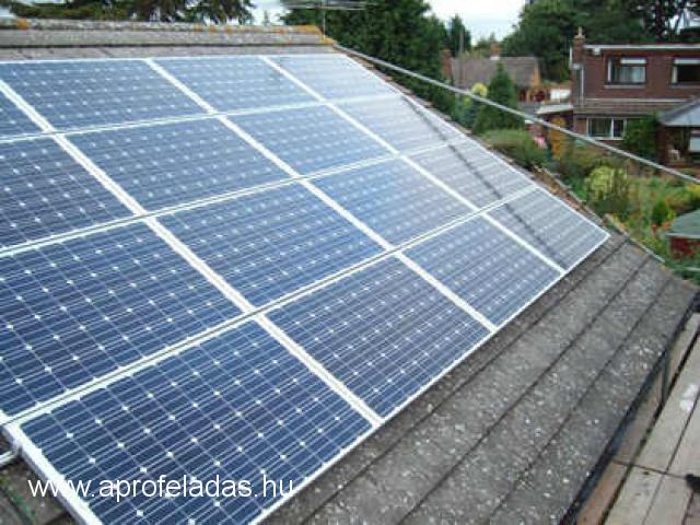 4,32kW napelemes rendszer 960.000Ft
