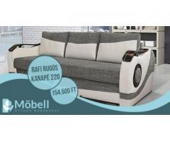 Rafi rugós kanapé