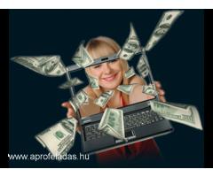 Egészítsd ki jövedelmed otthonról az Interneten távmunkával napi kifizetéssel