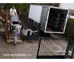 Költöztetés, nehéz, túlsúlyos tárgyak szállítása
