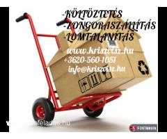 KÖLTÖZTETÉS-ZONGORASZÁLLÍTÁS-LOMELSZÁLLÍTÁS!