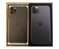Apple iPhone 11 Pro 64GB költség €400,iPhone 11 Pro Max 64GB költség €430,iPhone 11 64GB -- €350