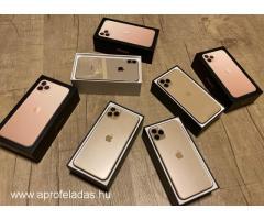 Apple iPhone 11 Pro 64GB költség €400,iPhone 11 Pro Max 64GB költség €430,iPhone 11 64GB - €350