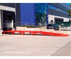 AUSBAU-VR rakodó rámpa kisteherautók számára