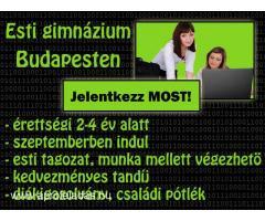 Estis gimi Budapesten diákigazolvánnyal