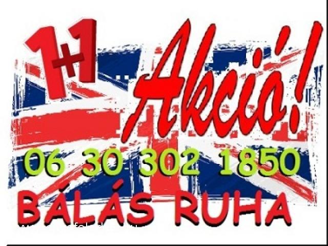 4a450d56f2 1+1 bálás használt ruha Akció!! ingyenes kiszállitás - Apró feladás